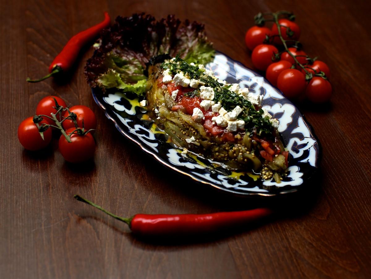 баклажаны на гриле рецепт с фото