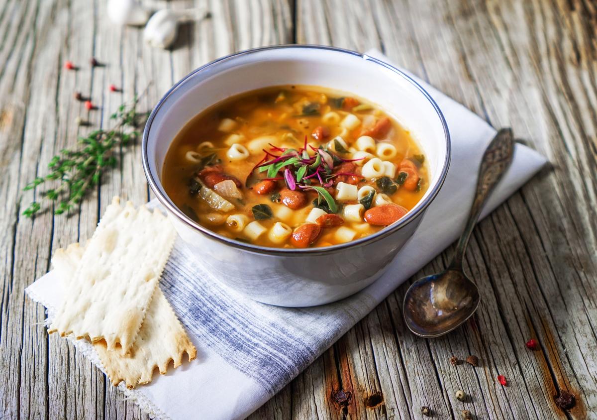 минестроне суп фото