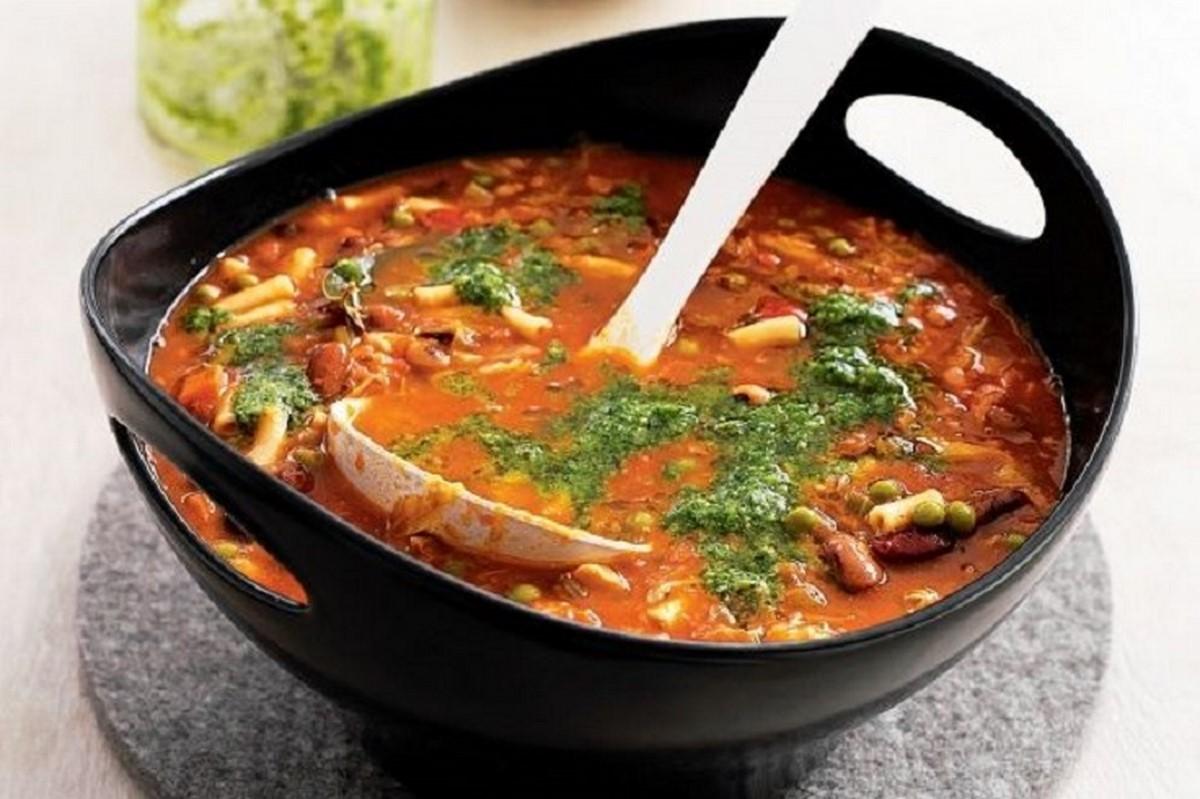 суп минестроне рецепт с фото
