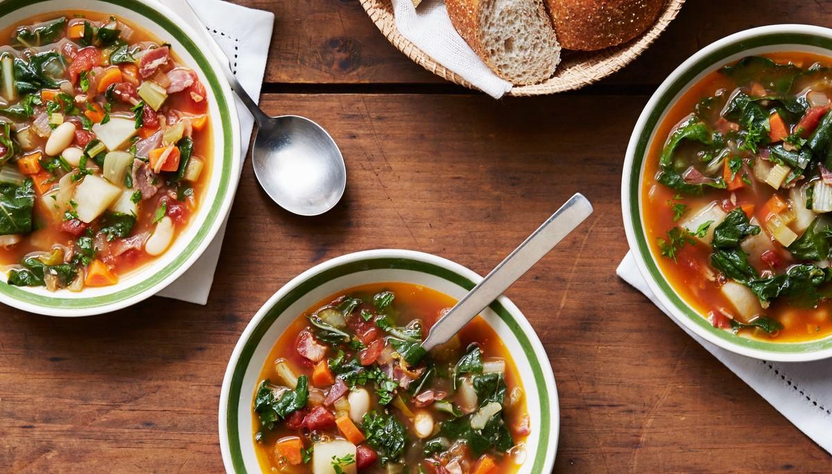 суп минестроне классический рецепт с фото