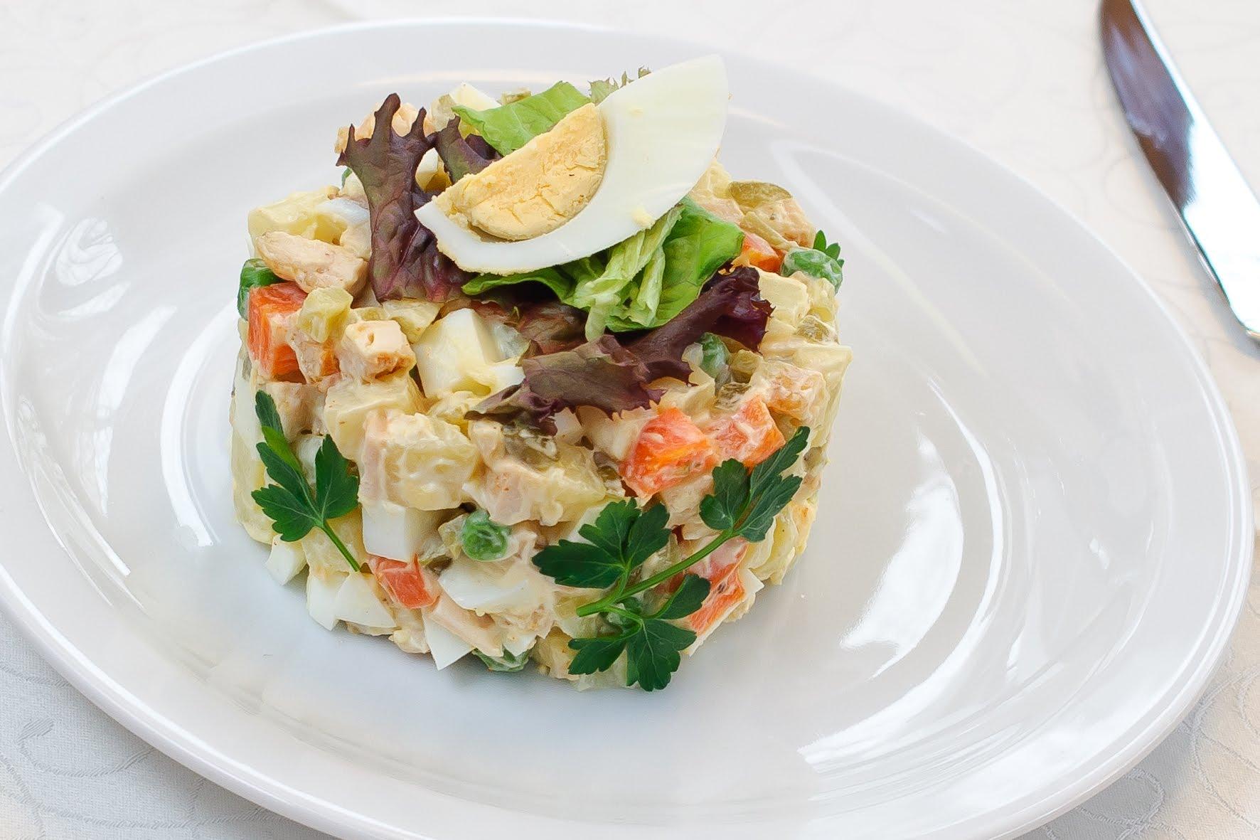 салат оливье рецепт с фото классический
