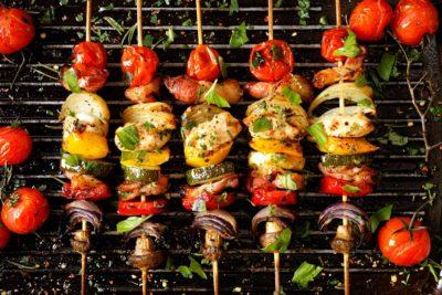 Рецепт приготовление овощей на гриле