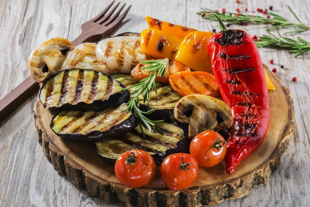 вкусные овощи гриль в домашних условиях