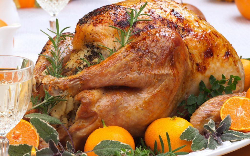 курица в духовке целиком фото