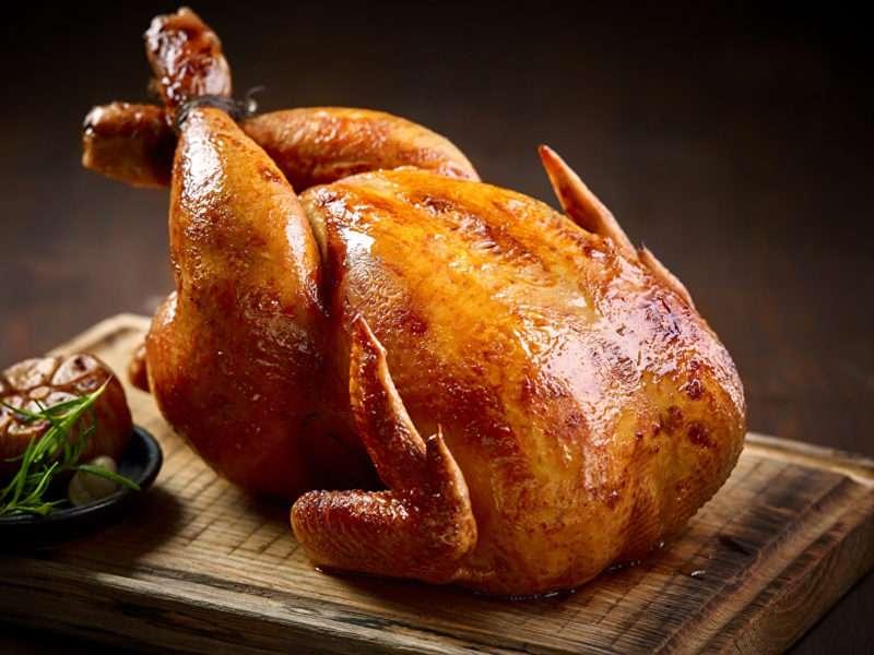 курица целиком в духовке рецепт фото