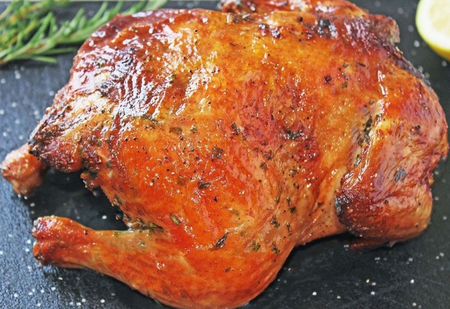 курица целиком рецепт фото