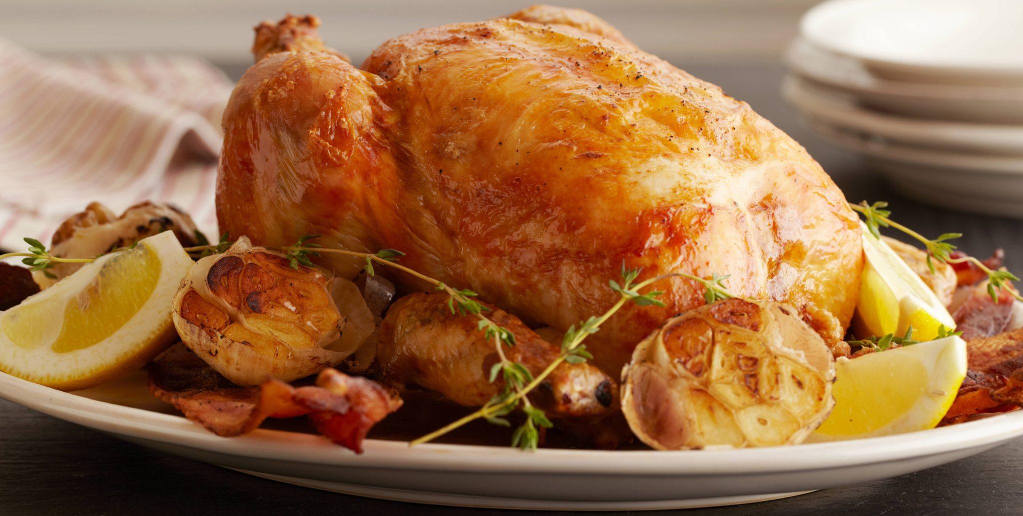 курица целиком в духовке рецепт самый вкусный с фото