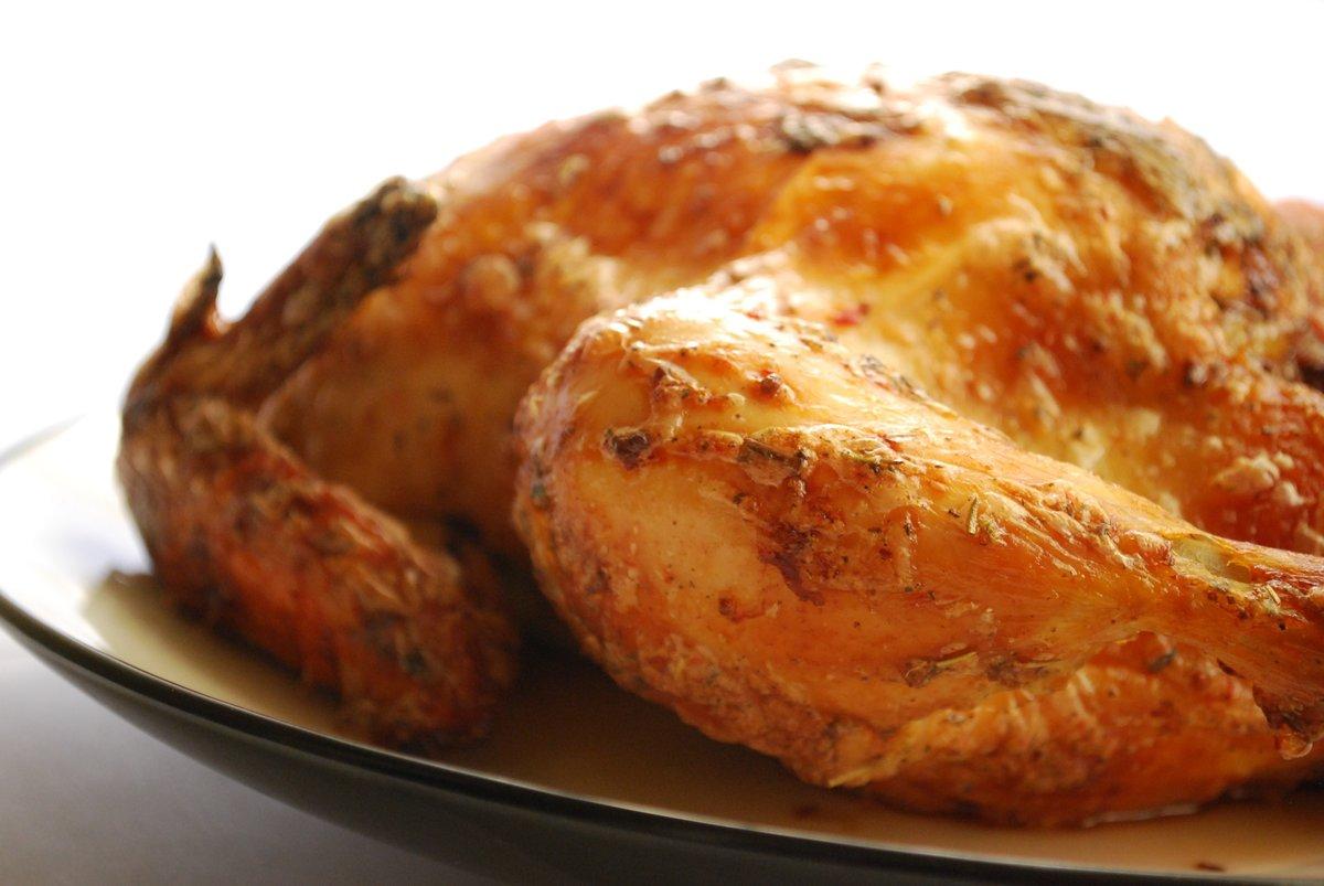 запечённая курица целиком в панировке фото