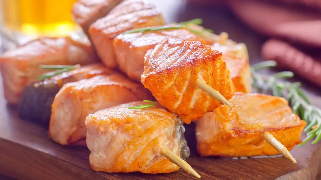 как приготовить шашлык из рыбы