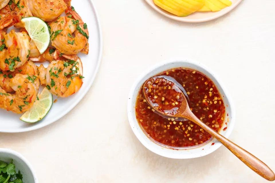 Сладкий соус чили к мясу и рыбе